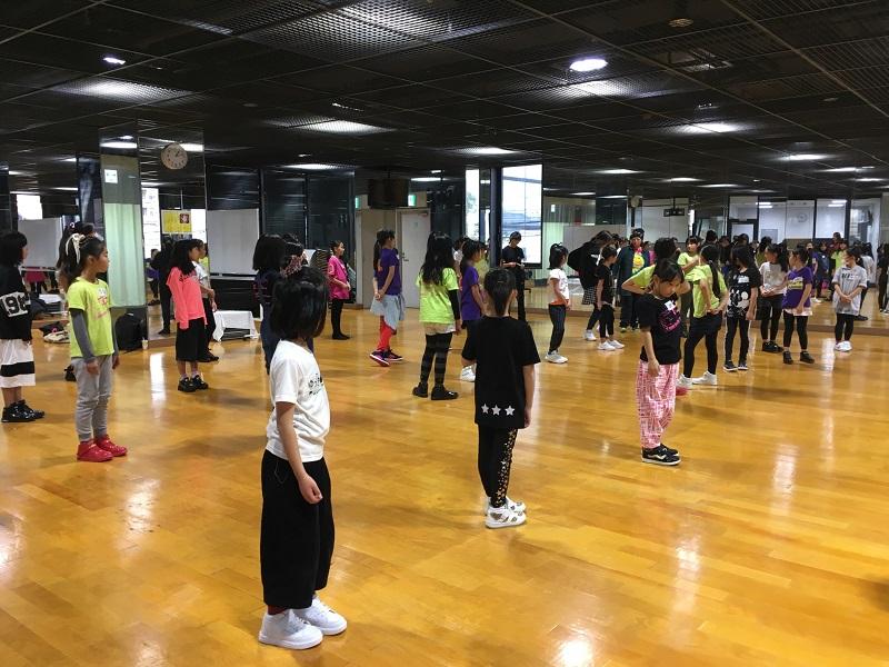 コラボ作品リハ、スタート‼ @八尾市ダンス協会10th Anniversary Dance Concert
