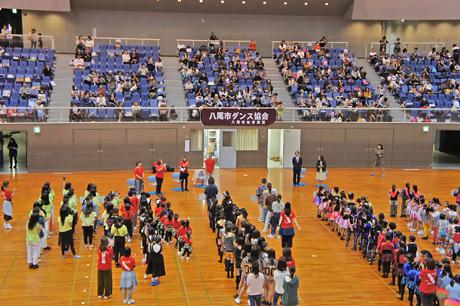 第9回 八尾市ダンス協会 ダンスコンサート!今年もウイング・メインアリーナにて開催します♪